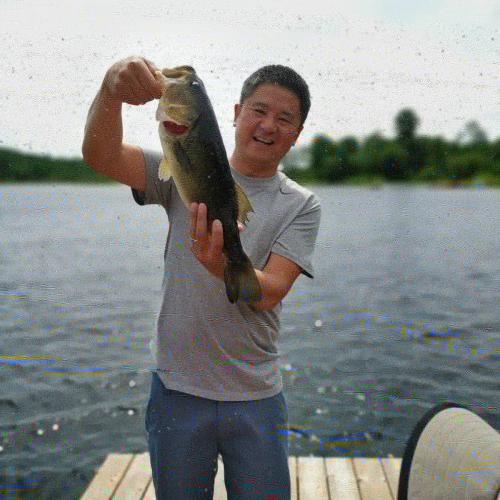 5+lb large mouth bass